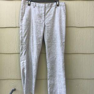 GAP | Tan Linen Pants | 12